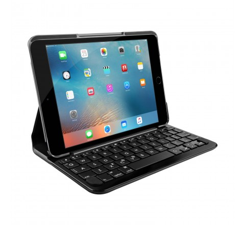 Logitech Focus Bluetooth Keyboard Case for iPad Mini 4 (Black)