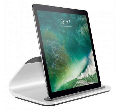 Logitech BASE Charging Stand with Smart Connector for iPad Pro (Silver)