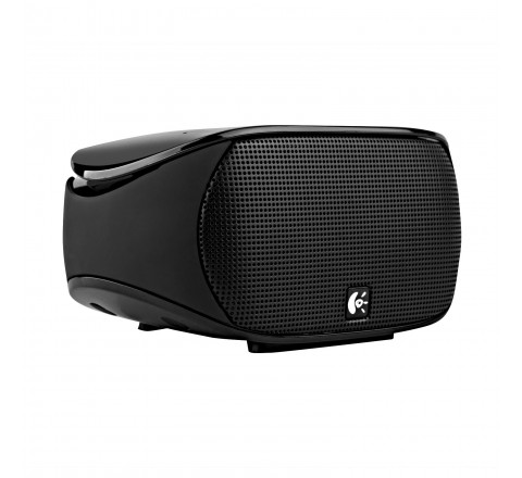 Logitech Mini Boombox for Smartphones, Tablets, and Laptops (Black)