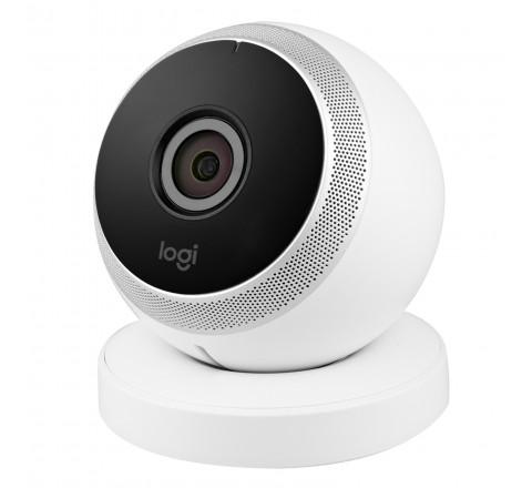 Logitech Circle Wireless 1080p Video Security Camera (White)