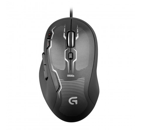 Logitech G500s Laser Gaming Mouse with Adjustable Weight Tuning (Black)