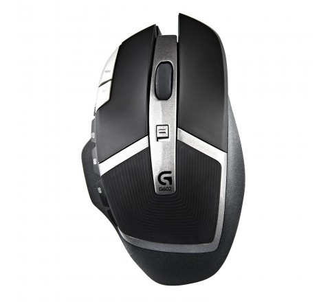 Logitech G602 Gaming Wireless Mouse (Black)