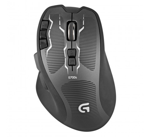 Logitech G700s Rechargable Wireless Gaming Mouse (Black)