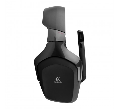 Logitech Wireless Gaming Headset G930 with 7.1 Surround Sound (Black)