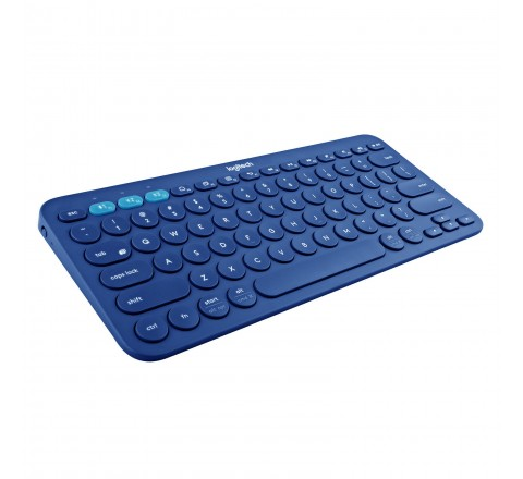 Logitech K380 Multi-Device Bluetooth Keyboard (Blue)