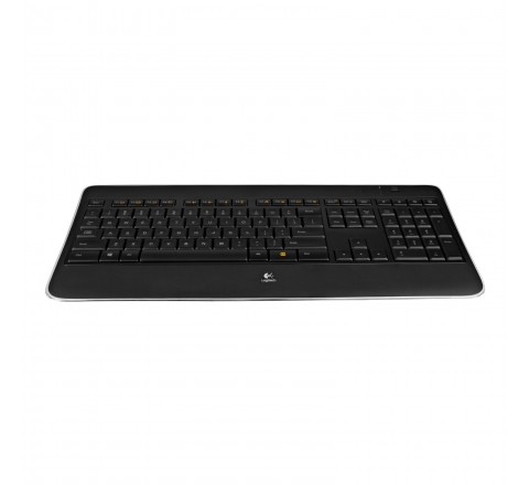 Logitech K800 Wireless Illuminated Keyboard with Hand-Proximity Backlight (Black)