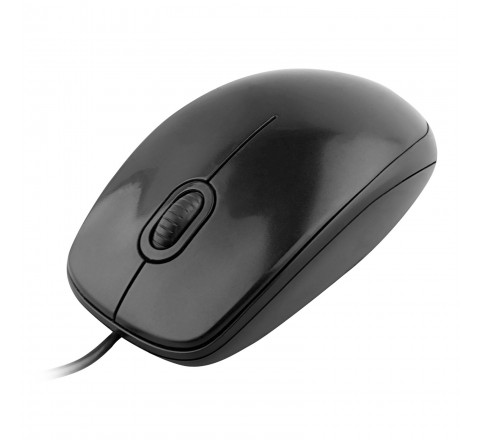 Logitech M100 USB Optical Wired Mouse (Black)