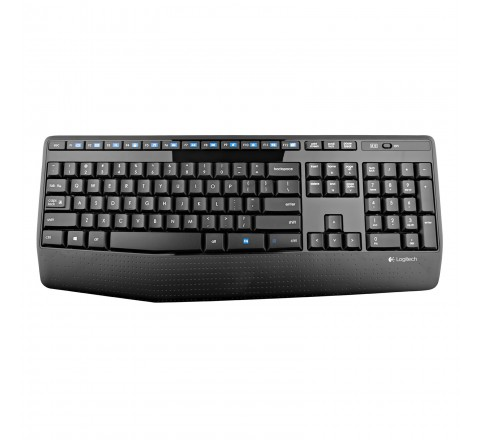 Logitech MK345 Wireless Keyboard and Mouse (Black)