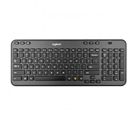 Logitech MK360 Wireless Keyboard and Mouse (Black)
