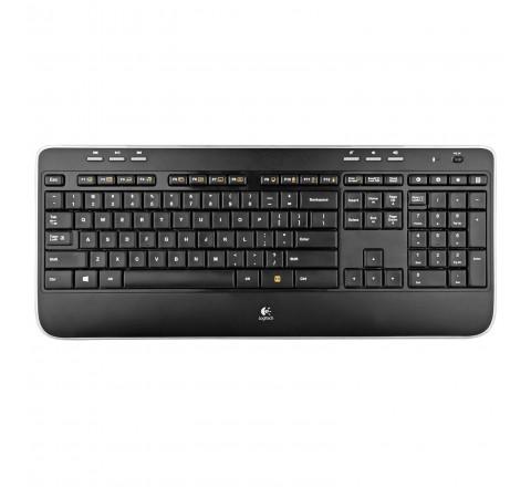 Logitech MK620 Wireless Keyboard and Mouse (Black)