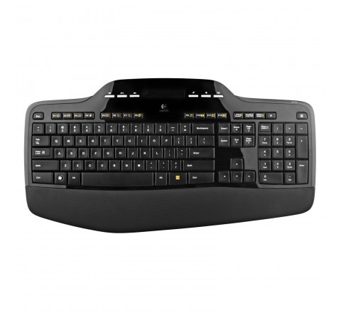 Logitech MK710 Wireless Keyboard and Mouse (Black)