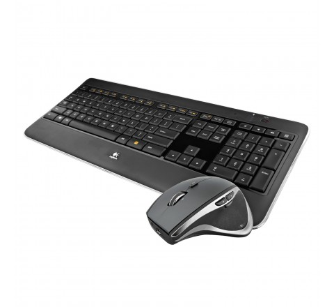 Logitech Performance Combo MX800 Illuminated Wireless Keyboard/Mouse (Black)