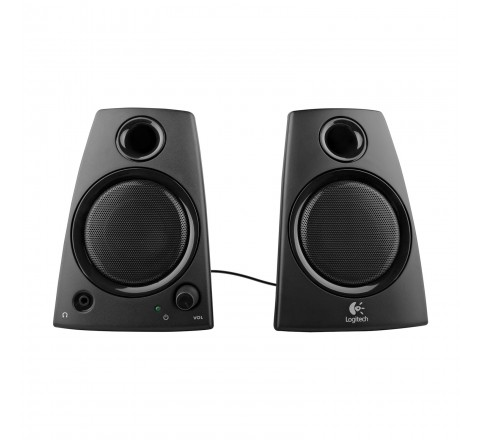 Logitech Z130 Laptop Speakers (Black)