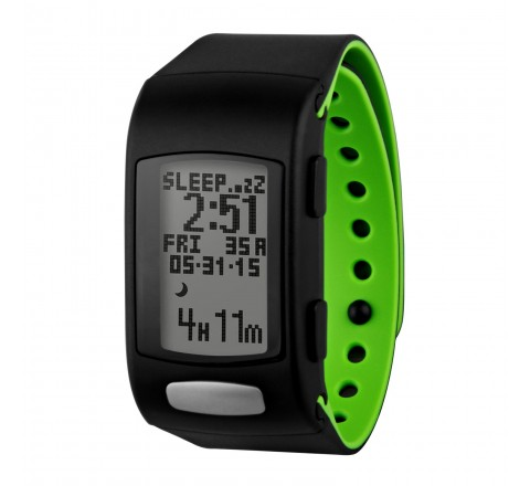 LifeTrak Move C300 Heart Rate Watch (Black/Green)