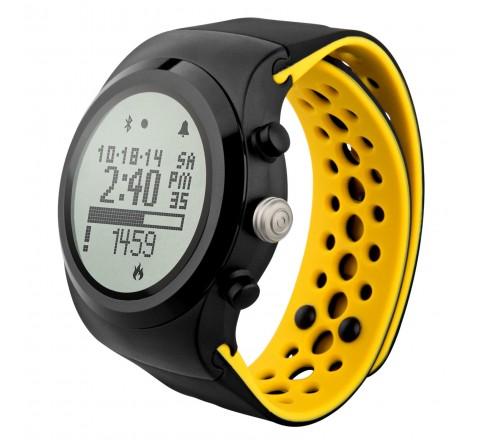 LifeTrak Brite R450 Heart Rate Watch (Black/Yellow)