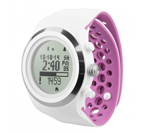 LifeTrak Brite R450 Heart Rate Watch (White)