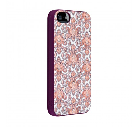 Lucky Hard Cover for Apple iPhone 5/5S/SE (Pink)
