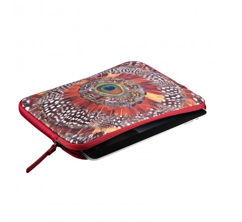 Lucky Brand Peacock Feather Universal Tablet Sleeve (Pattern)