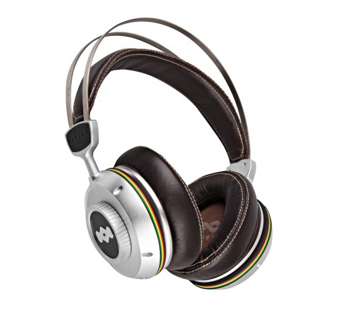 House of Marley EM-DH001-IO Trench Town Rock Over Ear Headphones (Iron)