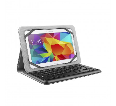 "M-Edge Folio Plus Pro Keyboard for 7-8"" Tablets (Gray)"