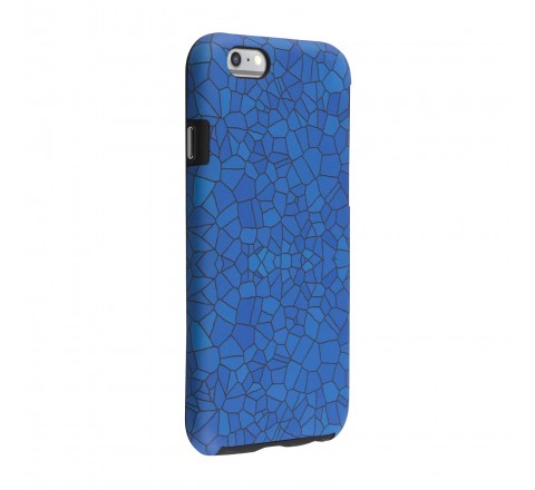 Milk and Honey Protective Case for iPhone 6/6s (Blue Mosaic)