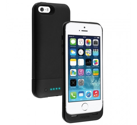 Mophie Juice Pack Air Battery Case for iPhone 5/5S/SE (Black)