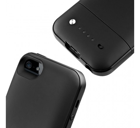 Mophie Space Pack 16 GB Battery Case for iPhone 5/5S/SE (Black)