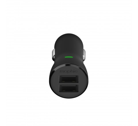 Mophie Dual USB Car Charger (Black)