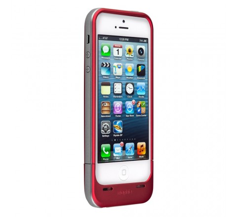 Mophie Space Pack 32 GB Battery Case for iPhone 5/5S/SE (Red)