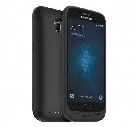 Mophie Juice Pack Battery Case for Galaxy S6 (Black)