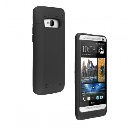 Mophie Juice Pack Case for HTC One M7 (Black)