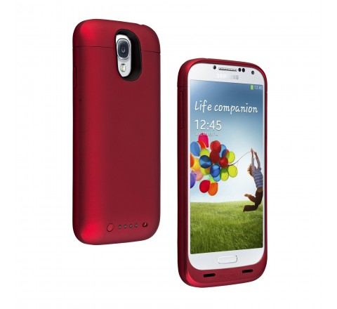 Mophie Juice Pack Battery Case for Samsung Galaxy S4 (Red)