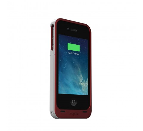 Mophie Juice Pack Air Battery Case for iPhone 4/4S (Red)