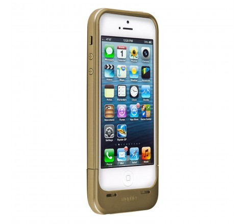 Mophie Juice Pack Air Battery Case for iPhone 5/5S/SE (Gold)