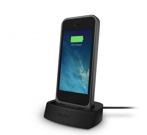 Mophie Juice Pack Desktop Dock For Apple iPhone 5/5S/SE (Black)