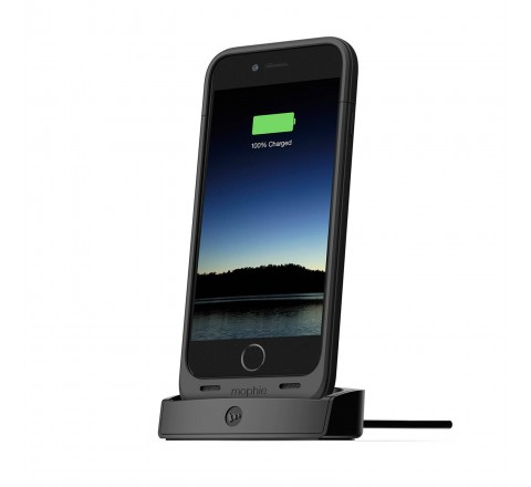 Mophie Juice Pack Desktop Dock For Apple iPhone 6 And 6S (Black)
