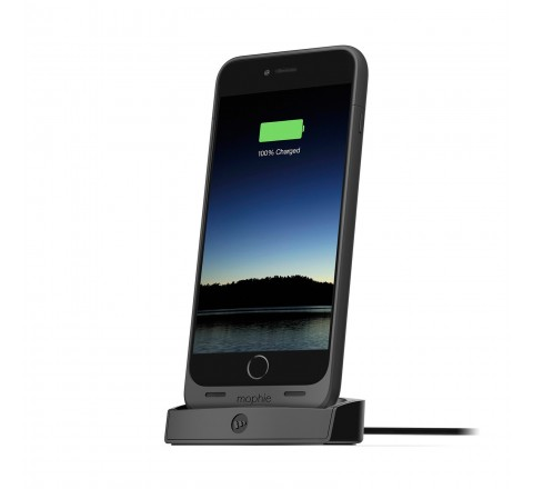 Mophie Juice Pack Desktop Dock For Apple iPhone 6 Plus And 6S Plus (Black)
