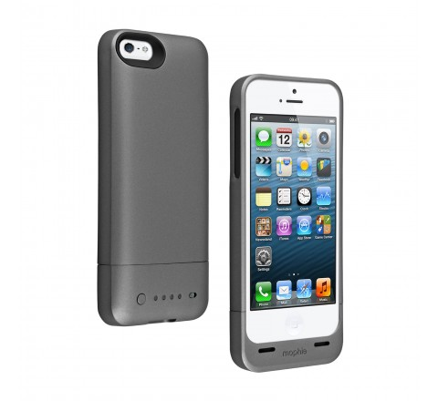 Mophie Juice Pack Helium Battery Case for iPhone 5/5S/SE (Gray)