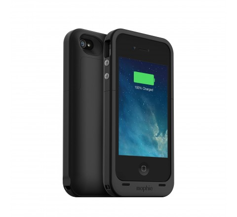Mophie Juice Pack Plus Battery Case for iPhone 4/4S (Black)