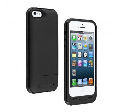 Mophie Juice Pack Plus Battery Case for iPhone 5/5S/SE (Black)