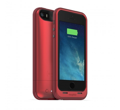 Mophie Juice Pack Plus Battery Case for iPhone 5/5S/SE (Red)