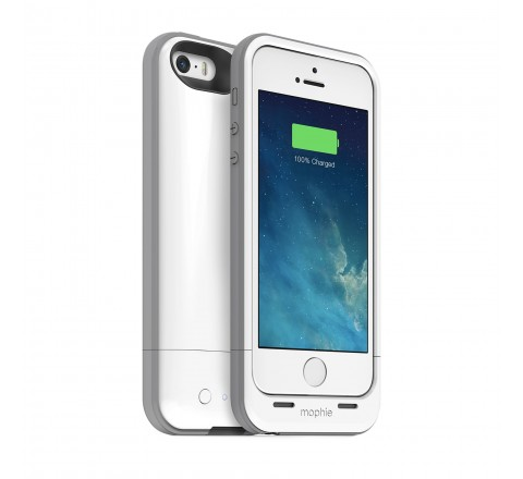 Mophie Juice Pack Plus Battery Case for iPhone 5/5S/SE (White)