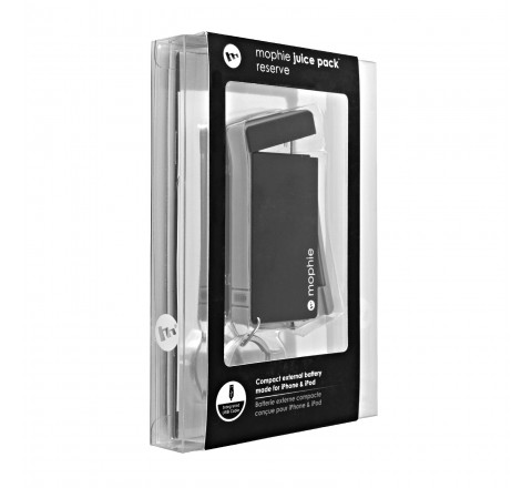 Mophie Juice Pack Reserve for 30-Pin Apple Devices External Battery Charger