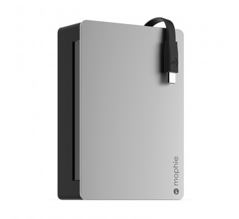 Mophie Powerstation Plus 8X with Micro USB Connector 12,000mAh (Black)
