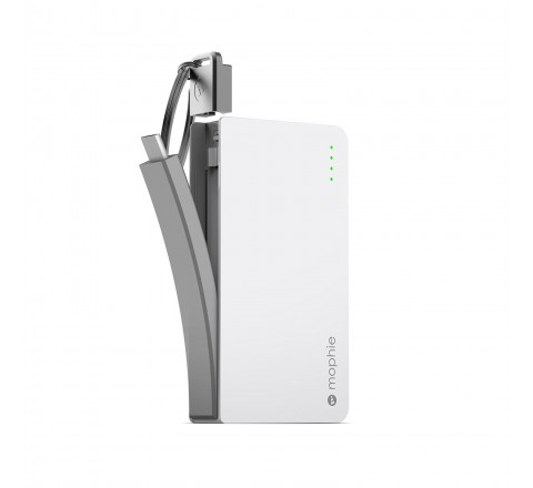Mophie Powerstation Reserve with Micro USB Connector 1,300mAh (White)