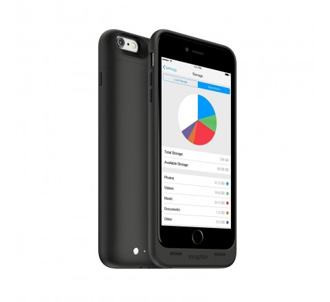 Mophie Space Pack 32 GB Battery Case for iPhone 6 Plus (Black)