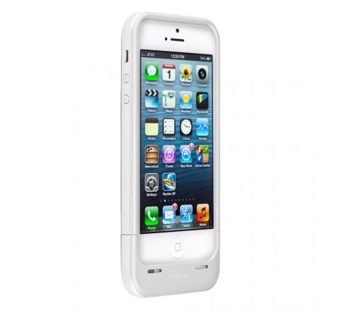 Mophie Space Pack 16 GB Battery Case for iPhone 5/5S/SE (White)