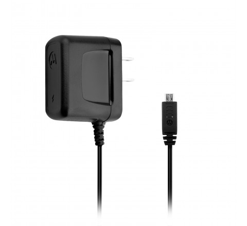 Motorola 500mA Micro-USB Travel Charger (Black)