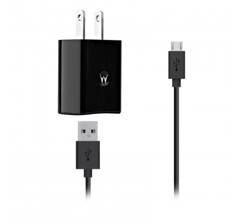 Motorola Dual Port USB Charger with Micro USB Cable - SPN5797A