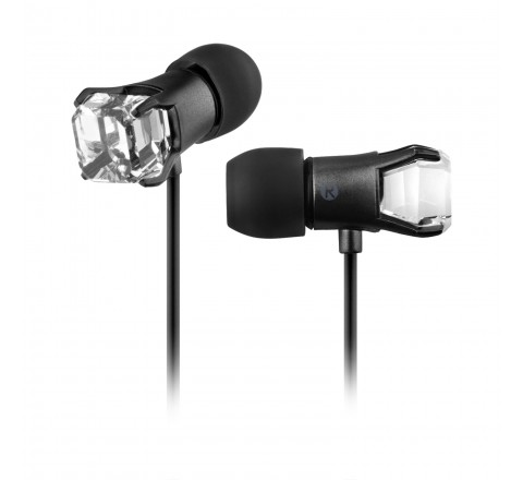 Maroo GEM Collection Crystal Earbuds (Titanium)